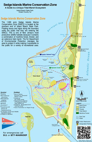 Island Beach State Park (Sedge Islands Marine Conservation Zone)