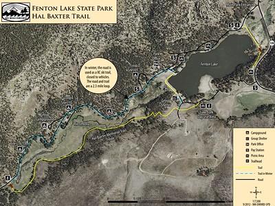 Fenton Lake State Park (Trail Map)