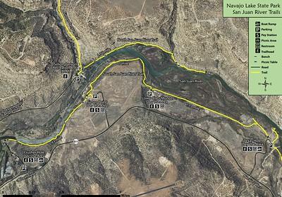 Navajo Lake State Park (San Juan River Trails)