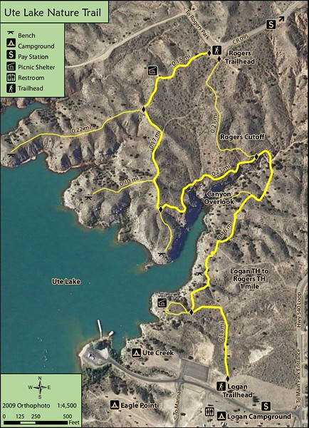 Ute Lake State Park (Trail Map)