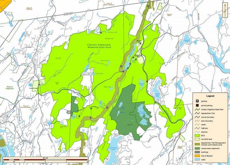 Clarence Fahnestock State Park (Bird Conservation Area)