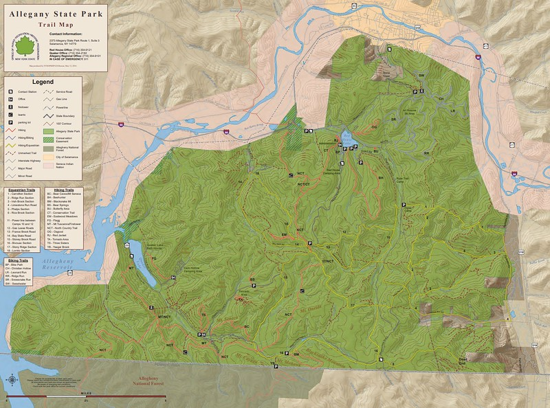 Allegany State Park (Trail Map)