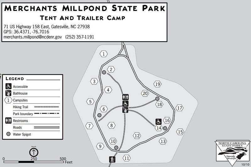 Merchants Millpond State Park (Tent & Trailer Campground)