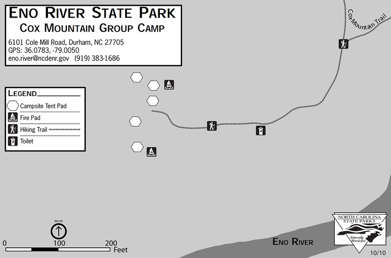 Eno River State Park (Cox Mountain Group Campground)
