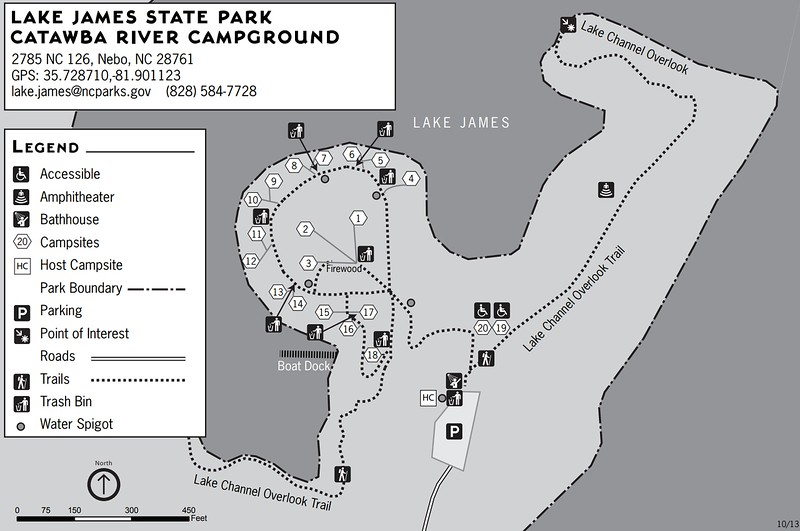 Lake James State Park (Catawba River Campground)