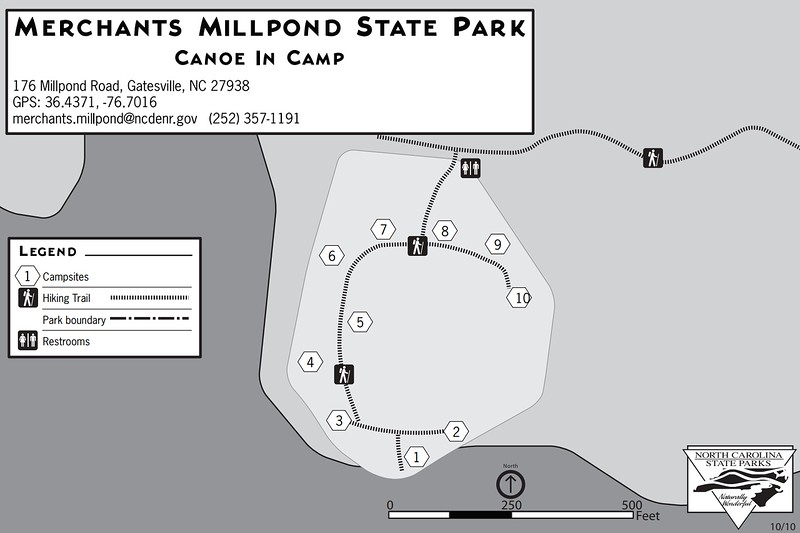 Merchants Millpond State Park (Canoe-In Campground)