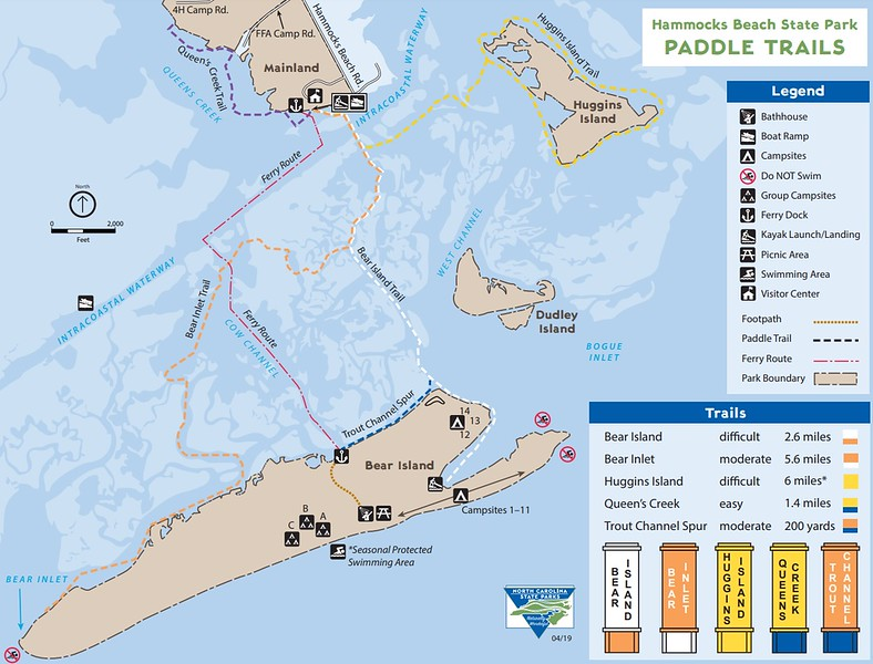 Hammocks Beach State Park (Paddle Trails)