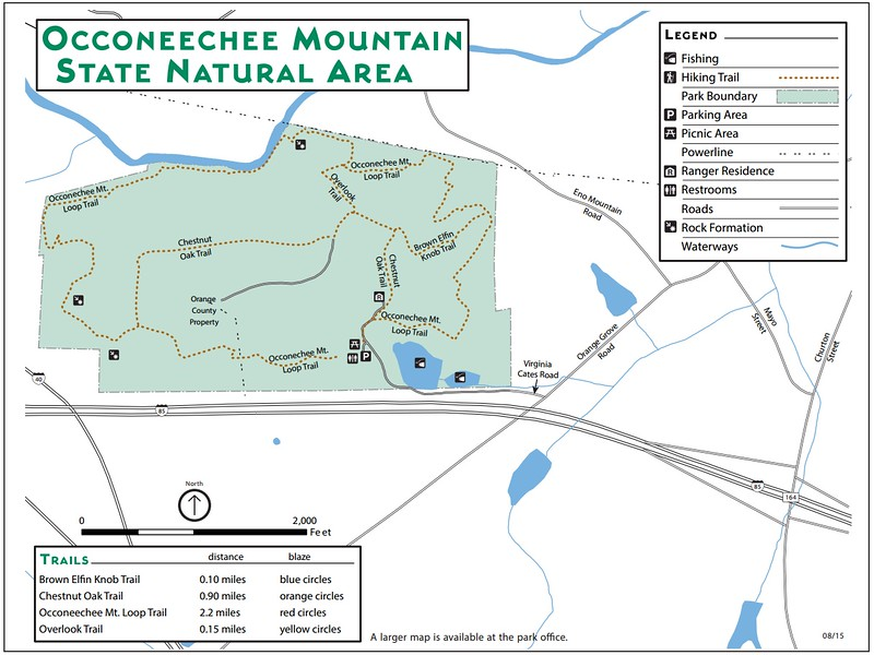 Occoneechee Mountain State Natural Area