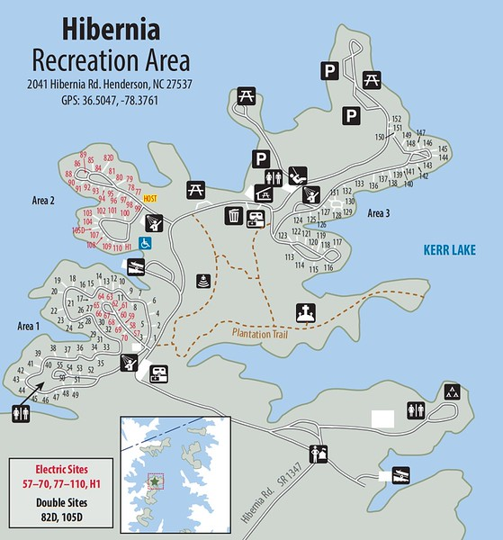 Kerr Lake State Recreation Area (Hibernia Recreation Area)