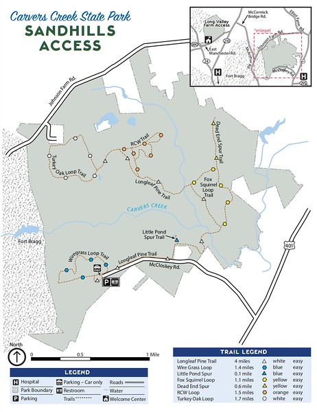 Carvers Creek State Park (Sandhills Access)