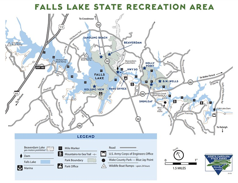 Falls Lake State Recreation Area