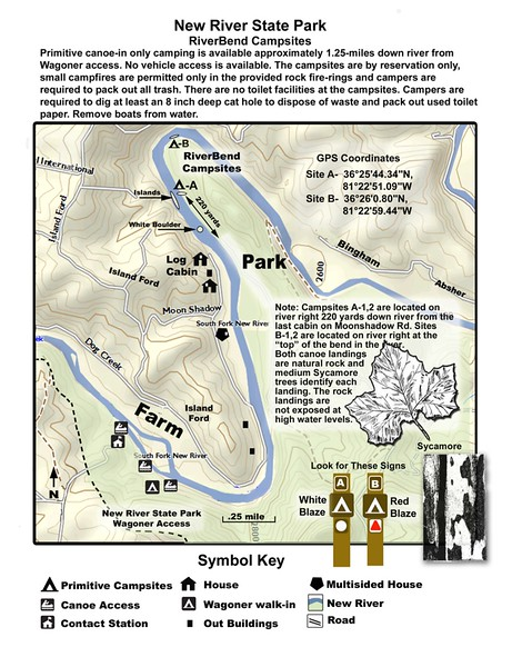 New River State Park (Riverbend Access)
