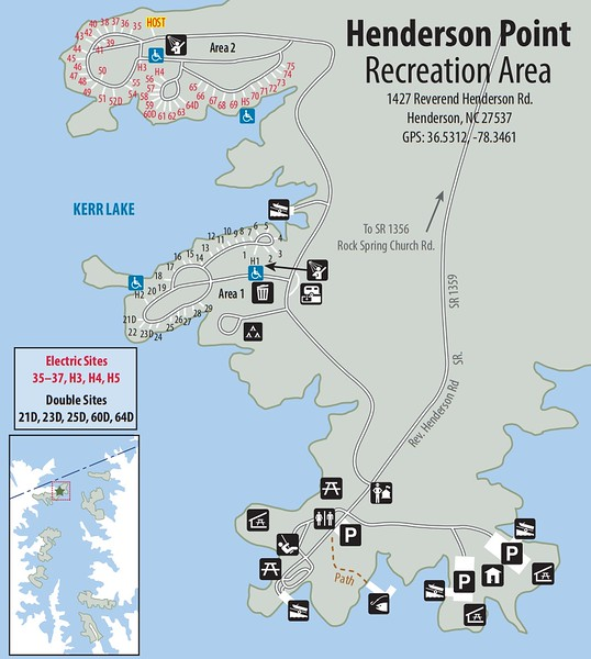 Kerr Lake State Recreation Area (Henderson Point Recreation Area)