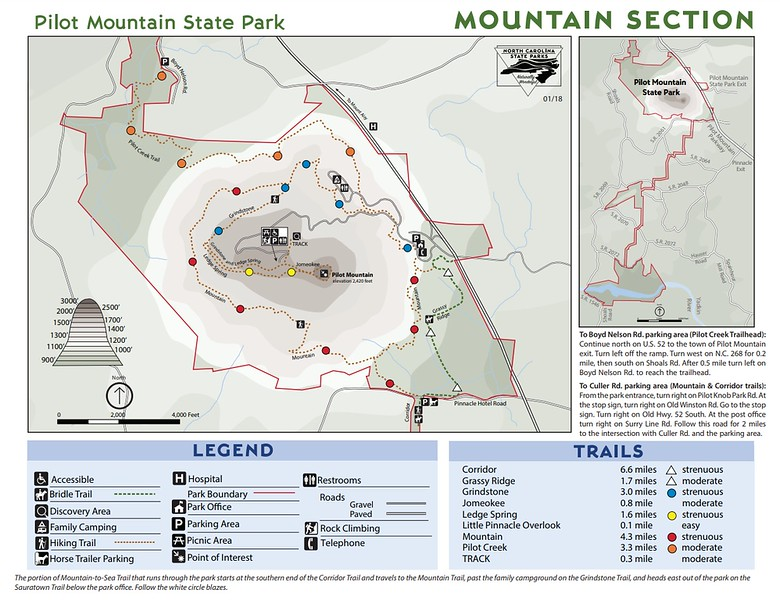 Pilot Mountain State Park (Mountain Section)