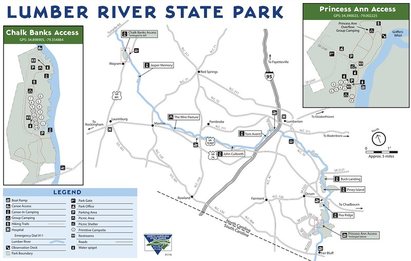 Lumber River State Park