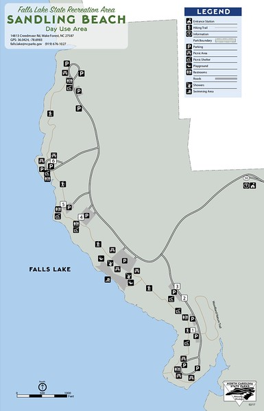 Falls Lake State Recreation Area (Sandling Beach Day Use Area)