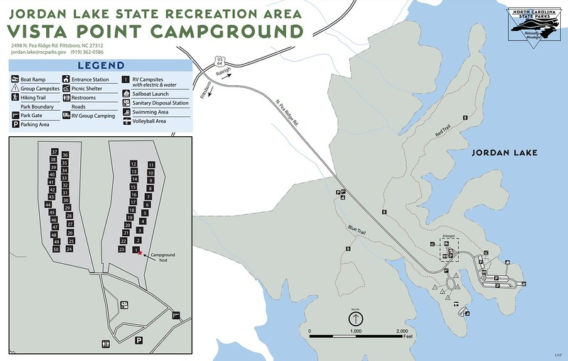 Jordan Lake State Recreation Area (Vista Point Campground)