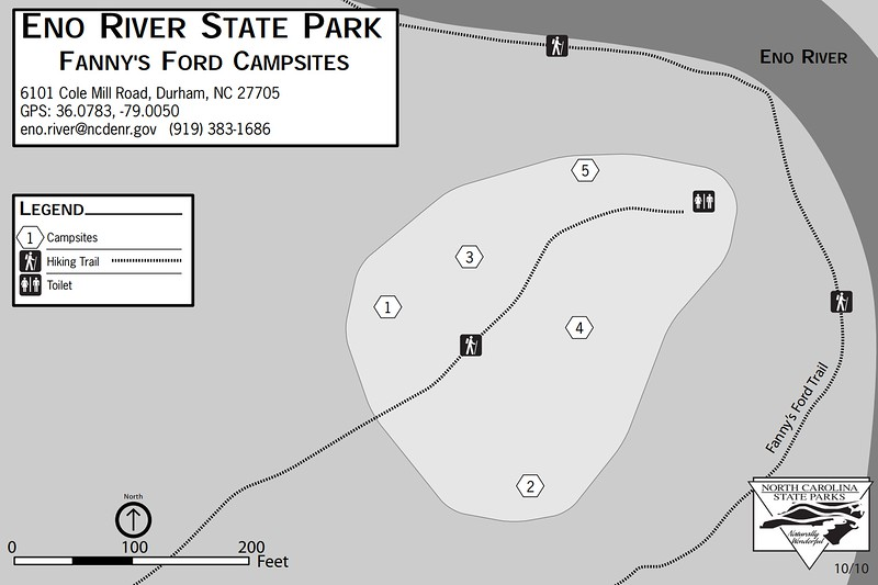 Eno River State Park (Fanny's Ford Campsites)