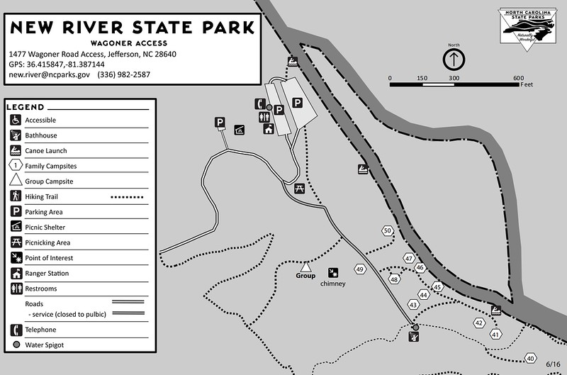 New River State Park (Wagoner Access Campsites)