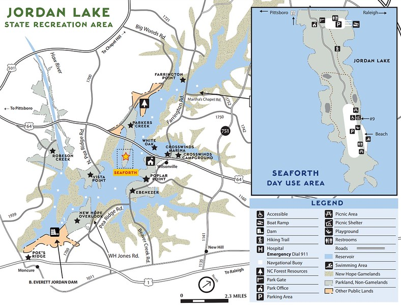 Jordan Lake State Recreation Area (Seaforth Day Use Area)
