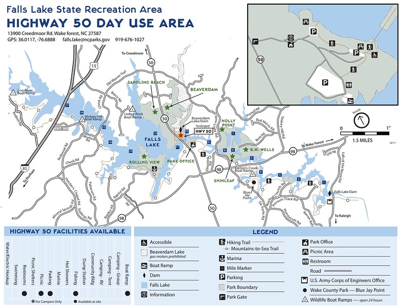 Falls Lake State Recreation Area (Highway 50 Day Use Area)