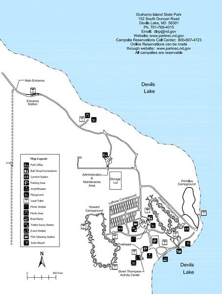 Grahams Island State Park