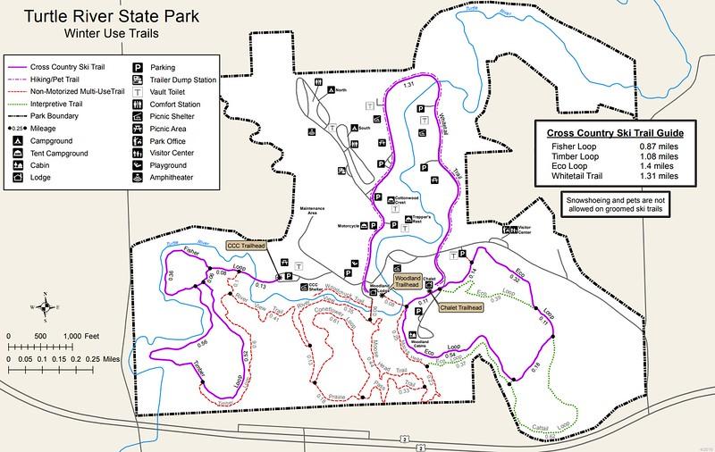 Turtle River State Park (Winter Trails)