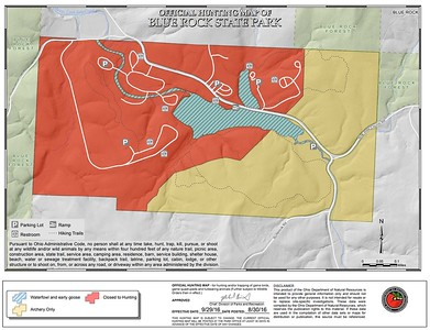 Blue Rock State Park (Hunting Map)
