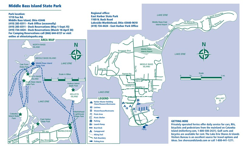 Ohio State Park Maps - dwhike on kelleys island campground, south bass island state park map, middle bass island map, kelleys island ferry, kelleys island rentals,