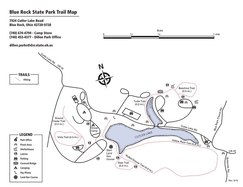 Blue Rock State Park (Trail Map)