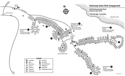 Barkcamp State Park (Campground Map)