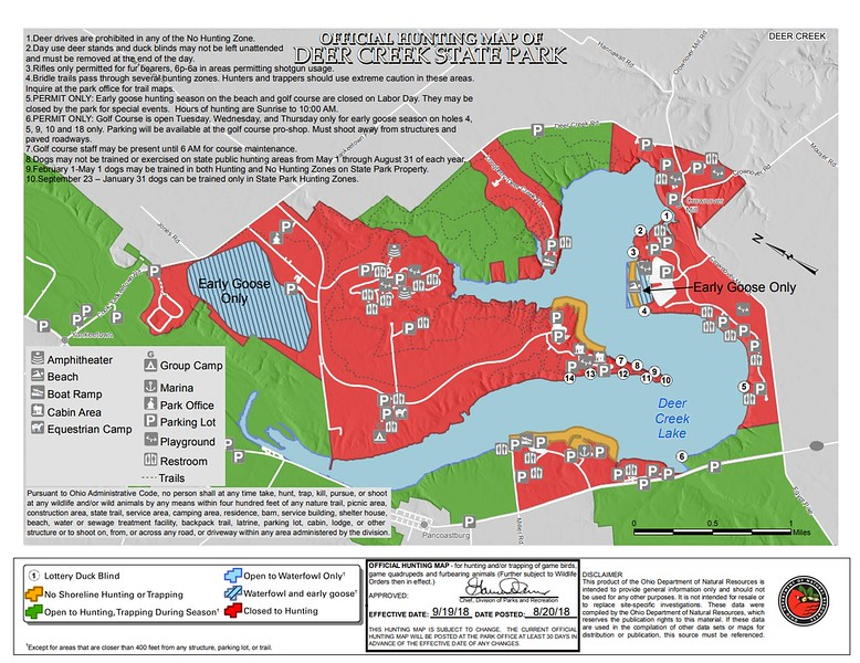 Ohio State Park Maps - dwhike on