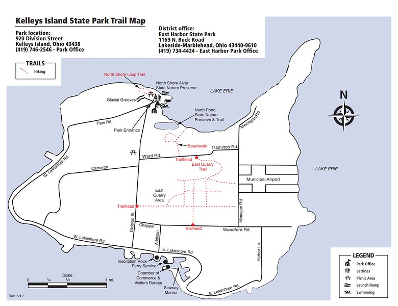 Ohio State Park Maps - dwhike on kelley's island state park campsite map, kelleys island ohio, south bass island state park campground map, kelleys island yurt, kelleys island art,