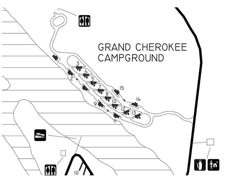 Cherokee Landing State Park (Grand Cherokee Campground)