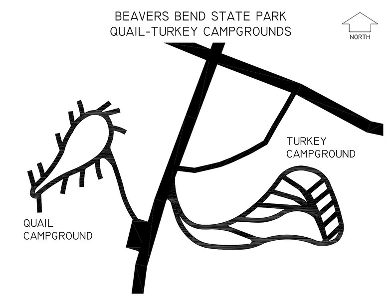 Beavers Bend State Park (Quail & Turkey Campgrounds)