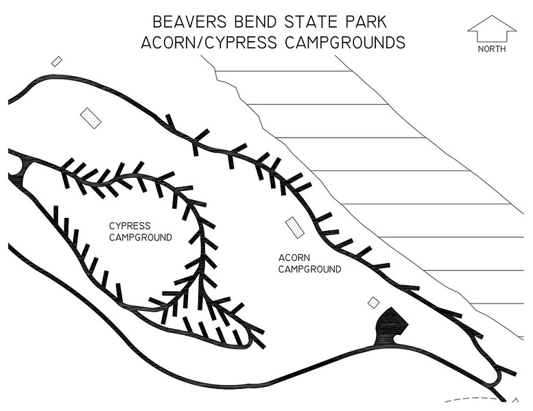 Beavers Bend State Park (Acorn & Cypress Campgrounds)
