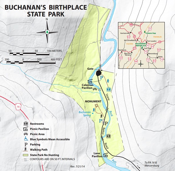 Buchanan's Birthplace State Park