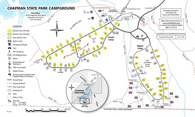 Chapman State Park (Campground Map)