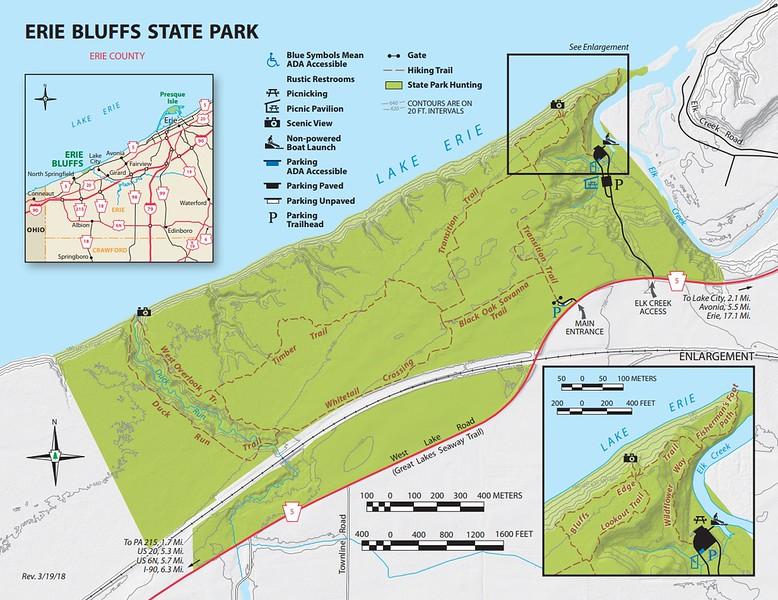 Erie Bluffs State Park