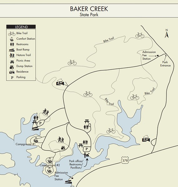 Baker Creek State Park