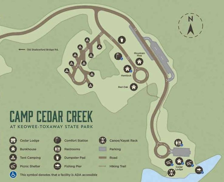 Keowee-Toxaway State Park (Camp Cedar Creek)