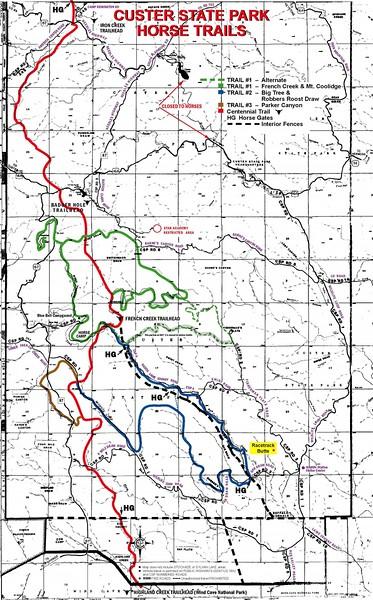 Custer State Park (Equestrian Trails)