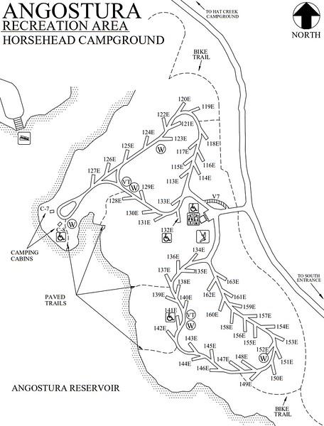 Angostura Recreation Area (Horsehead Campground)