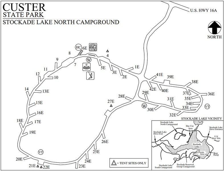 Custer State Park (Stockade Lake North Campground)