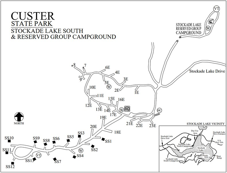 Custer State Park (Stockade Lake South Campground)