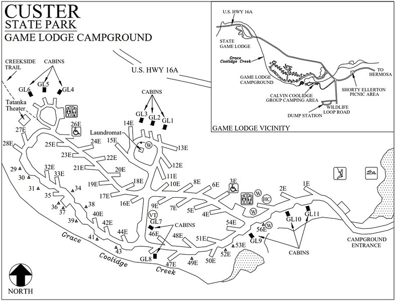 Custer State Park (Game Lodge Campground)