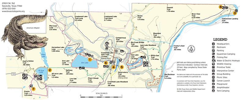 Brazos Bend State Park (Trails)