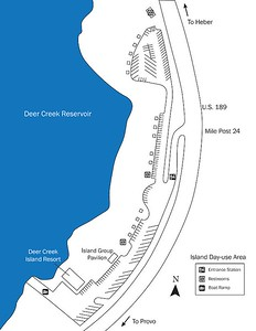 Deer Creek State Park (Island Day Use Area)