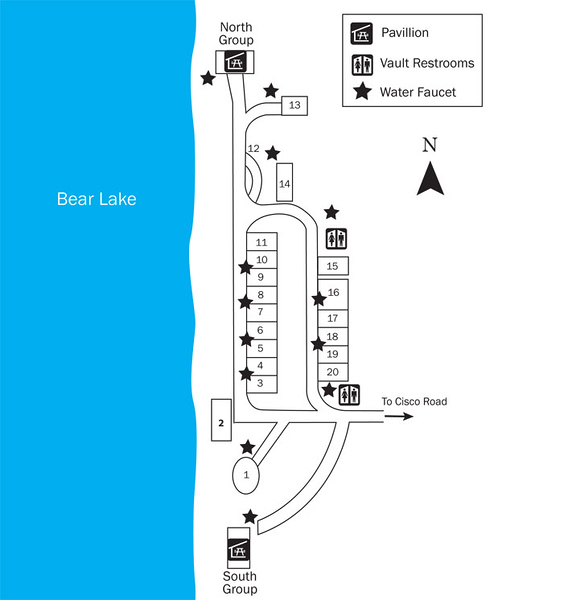 Bear Lake State Park (South Eden Campground)
