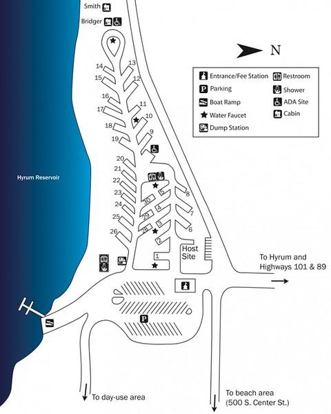 Hyrum State Park (Campground Map)